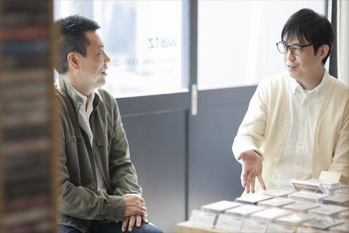 左から:野本晶(スポティファイジャパン)、角田太郎(waltz)