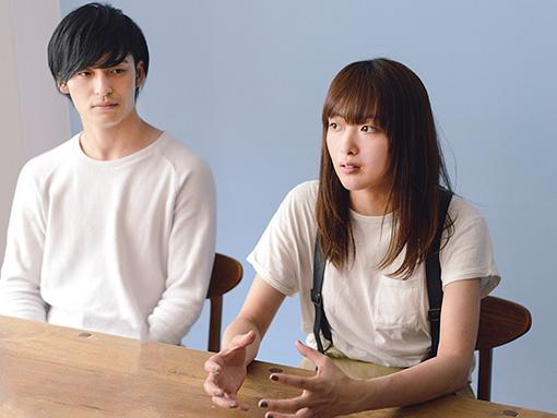 左から:小林壱誓、長屋晴子