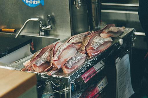 昆布締めにする魚