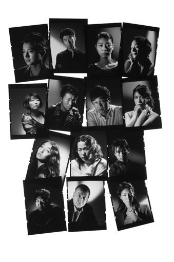 舞台『プレイヤー』メインビジュアル 撮影:細野晋司