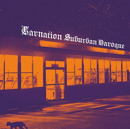 カーネーション『Suburban Baroque』ジャケット