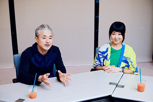 左から:中津川浩章、東ちづる