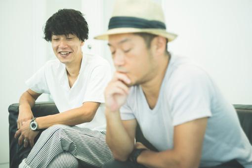 左から:田中和将、亀井亨