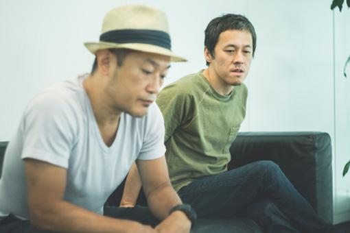 左から:亀井亨、西川弘剛
