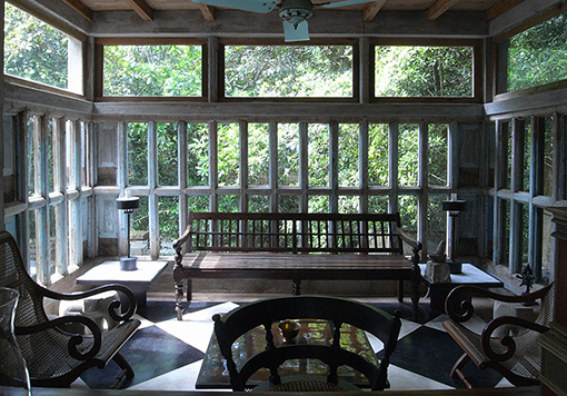 『ルヌガンガの邸宅』(ジェフリー・バワ設計)©東京工業大学 塚本由晴研究室