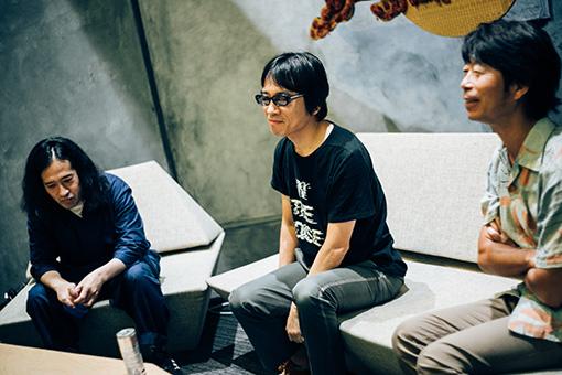 左から:又吉直樹、YO-KING、桜井秀俊