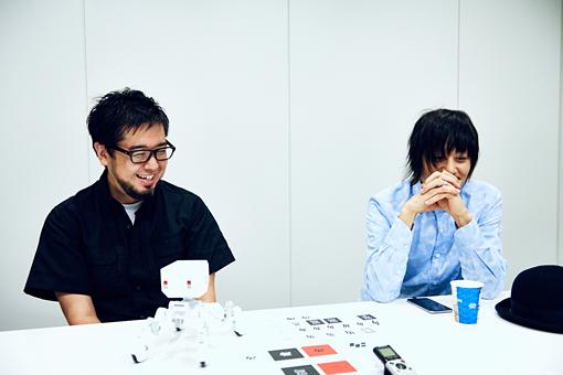 左から:大久保淳二、藤井麻輝