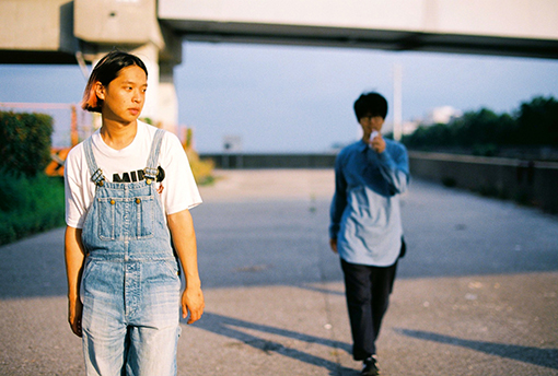 "『AFTER HOURS』(2014年)収録曲""LAY DOWN""のPVを撮影した空き地にて"