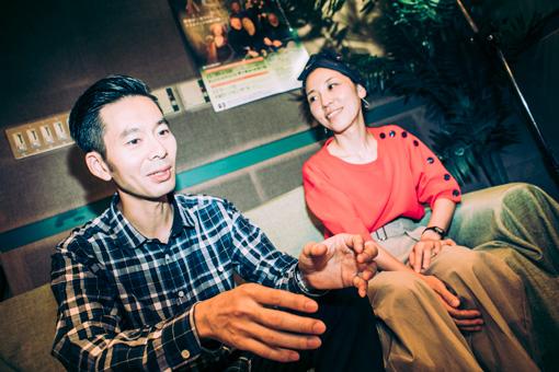 左から:佐藤良成、佐野遊穂