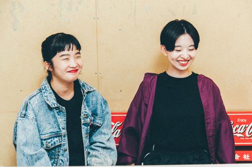 左から:マナ、ユウキ