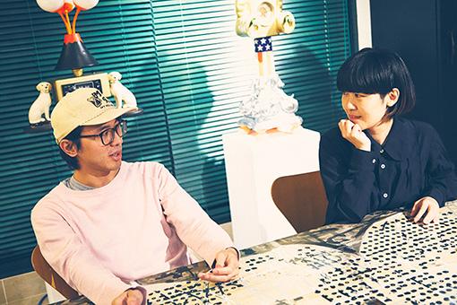 左から:一ノ瀬雄太(快速東京)、シンボユカ