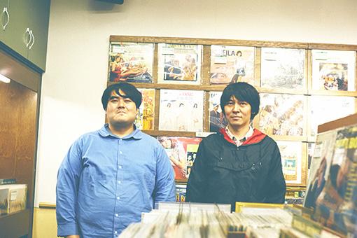 左から:澤部渡、矢島和義