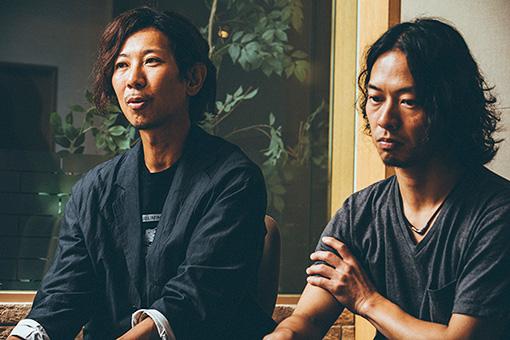 左から:松田晋二、山田将司