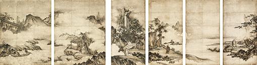 重要文化財『禅宗祖師図』狩野元信(16世紀)東京国立博物館 Image:TNM Image Archives / 展示期間:9月16日~10月23日(ただし展示替あり) / 真体