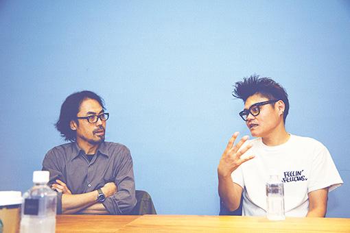 左から:吉澤成友、松田岳二
