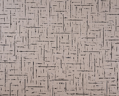チェ・ミョンヨン(崔明永)『平面條件 99115』(1999年)三重県立美術館蔵