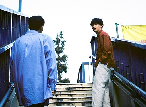 左から篠田ミル(yahyel)、向井太一