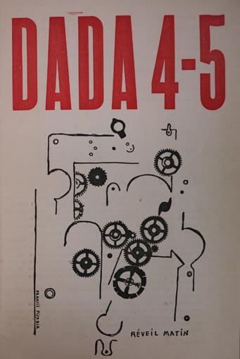トリスタン・ツァラ編『アンソロジー・ダダ ダダNo.4-5』(1919年) うらわ美術館蔵  / 「ダダ」とはトリスタン・ツァラが偶然に辞書のなかから見つけ出した言葉とされる
