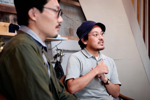 左から:小田桐奨、中嶋哲矢