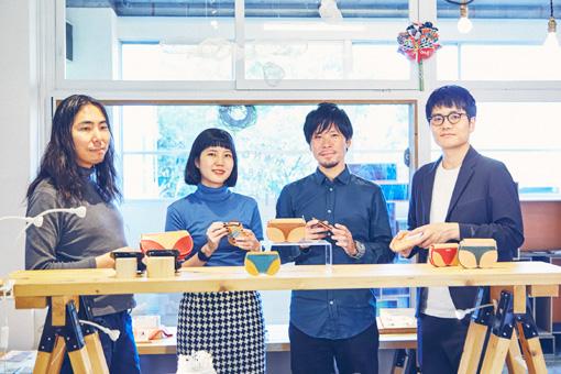 左から:深津貴之(THE GUILD)、木坂名央(minne)、櫻井優樹(METAMOS)、阿部雅幸(minne)