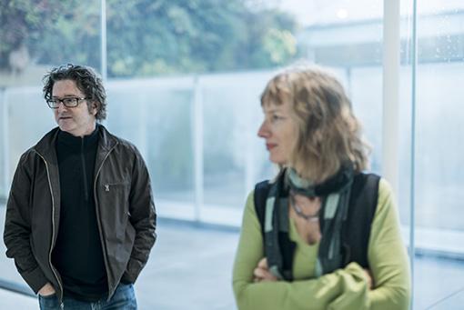 左から:ジョージ・ビュレス・ミラー、ジャネット・カーディフ