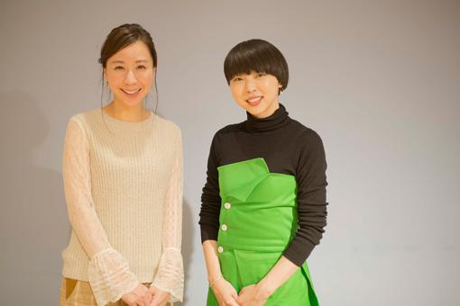 左から:コトリンゴ、MIKIKO