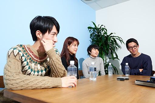 左から:宮田泰輔、緒方利菜、岩井百合香、樋口敏寛