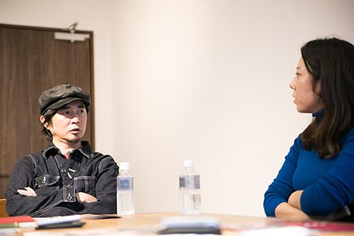 左から:増子直純(怒髪天)、山田佳奈(□字ック)