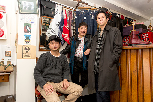 左から:渡辺俊美(TOKYO No.1 SOUL SET)、ハービー・山口、Keishi Tanaka