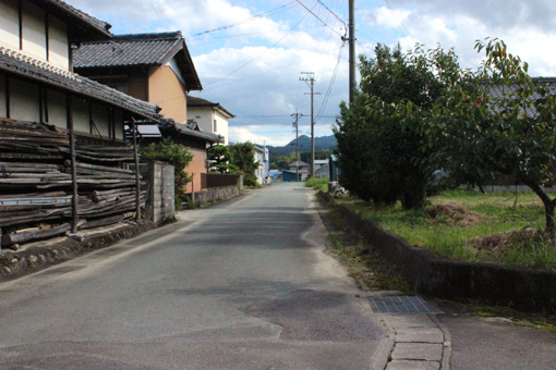 中谷ミチコが拠点とする、三重県津市白山町の風景