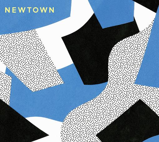toconoma『NEWTOWN』ジャケット / デザインはGt.石橋によるもの