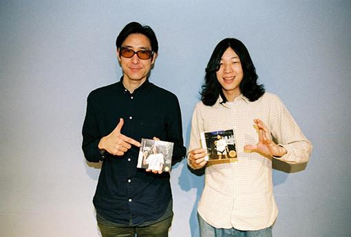 左から:小宮山雄飛(ホフディラン)、キイチビール(キイチビール&ザ・ホーリーティッツ)