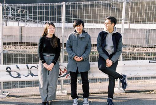 左から廣田ふみ、tomad、tofubeats