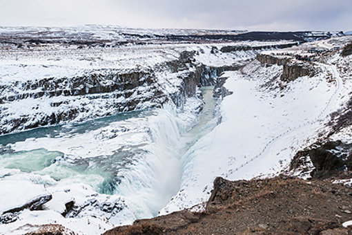 Sigur Rosの音楽を想起させるアイスランドの風景② / 撮影:黒田隆憲