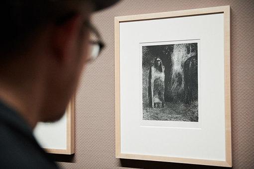 『「夜」Ⅱ.男は夜の風景の中で孤独だった』(1886年)三菱一号館美術館蔵