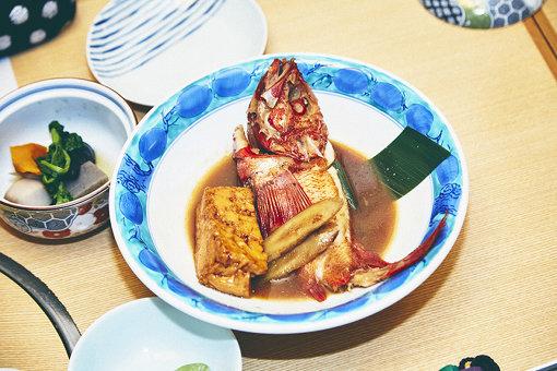 2人のオススメの一品「季節の煮魚」