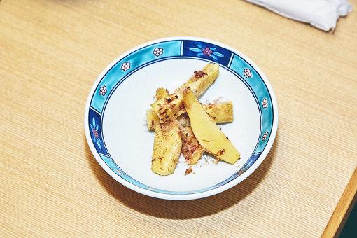 2人のオススメの一品「新竹の子土佐煮」