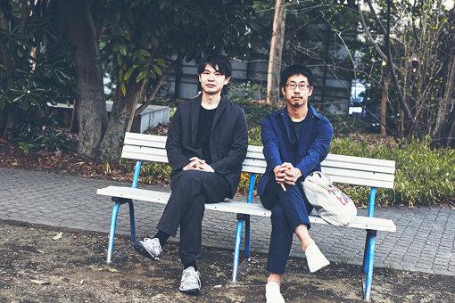 左から:建築家・森純平、キュレーター・長谷川新