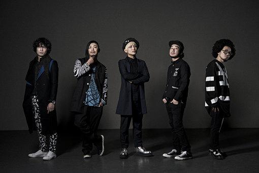 左から:MELTEN、YUKI、TSUUJII、YOSHIAKI、Gotti