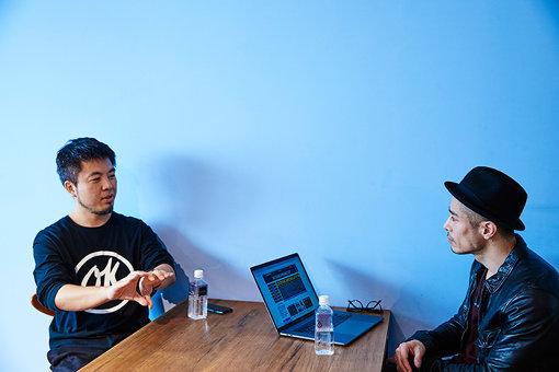 左から:福永泰朋、麻生潤