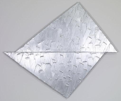 『アトミウム、ディテール No.10』(2007年) アルミニウムにアクリル Acrylic on aluminium 210 x 247 x 13 cm  © Adagp, Paris 2018