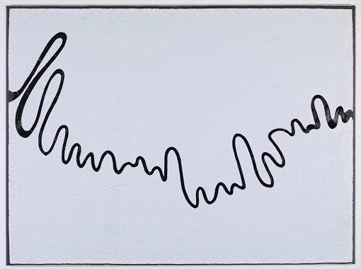 『ウォルト・ディズニー・プロダクションズ 1947-2013 No2』2013年 インクジェットプリントにアクリル絵具 Acrylic paint on inkjet print 167 x 225 cm © Adagp, Paris 2018