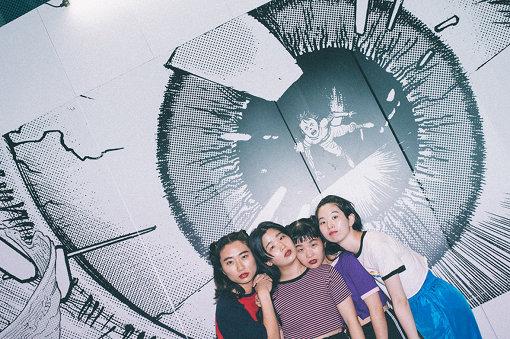 左から:ユナ、カナ、マナ、ユウキ