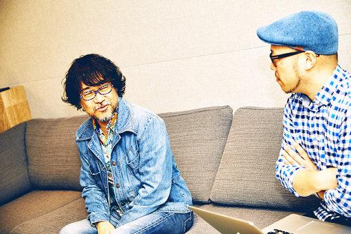 左から:倉本美津留、田中大輔