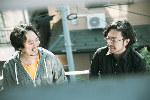 左から:直谷たかし、Akiyoshi Yasuda