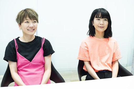 左から:福岡晃子、橋本絵莉子