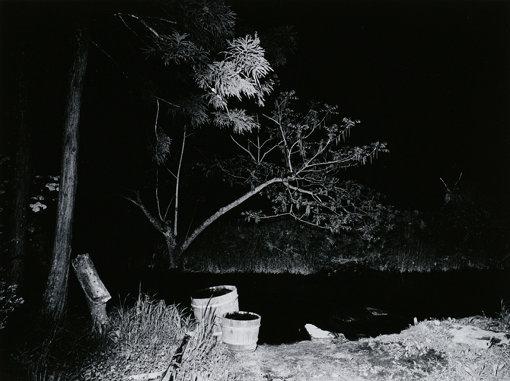 『カッパ淵 土淵』「遠野物語」より1972年 ゼラチン・シルバー・プリント