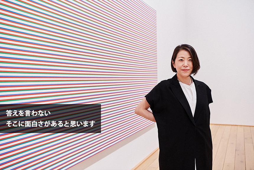 ブリジット・ライリー絵画のゆらぎに共振。Sachiko Mが語る潔さ