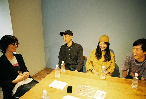 左から:永井聖一、ネギ、オオムラツヅミ、前田流星
