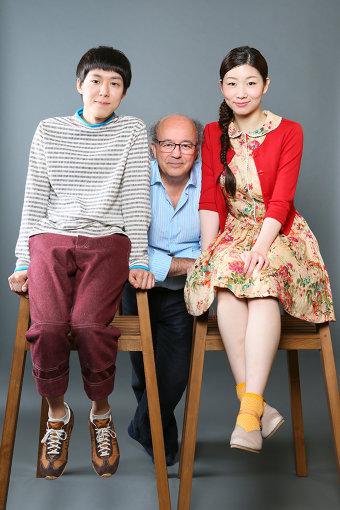 左から:小日向星一、ジェルヴェ・ゴドロ、土居志央梨(撮影:宮川舞子)